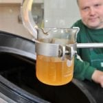 <b>Beer Cops:</b> Brewing beer is of course a serious business in Germany. The 1516 Reinheitsgebot (purity laws) define what can go into beer - just barley, hops and water - and nothing else. Although they are probably not really called beer cops, the law must be upheld, and regular testing conducted to make sure all is as it should be in German beer glasses. Photo: DPA