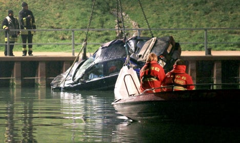 Two married couples die in canal car crash