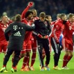 """Bayern Munich celebrate after <a href=""""http://www.thelocal.de/20140326/bayern"""" target=""""_blank"""">winning the German league title on Tuesday.Photo: DPA"""