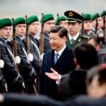 """Chinese President Xi Jinping <a href=""""http://www.thelocal.de/20140328/chinas-president-xi-jinping-heads-to-germany-for-angela-merkel-talks"""" target=""""_blank"""">arrived in Berlin on Friday</a> for trade talks.Photo: DPA"""