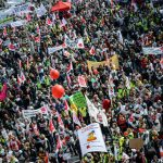 """<a href=""""http://www.thelocal.de/20140324/public-sector-strikes-to-sweep-germany-from-trade-union-verdi"""" target=""""_blank"""">Striking public servants demonstrate in Nuremberg</a> on Wednesday amid industrial disputes across the country.Photo: DPA"""