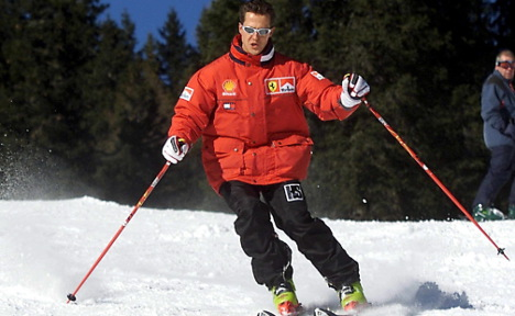 Schumacher shows signs of waking from coma