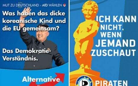 Germany's most bizarre EU election posters
