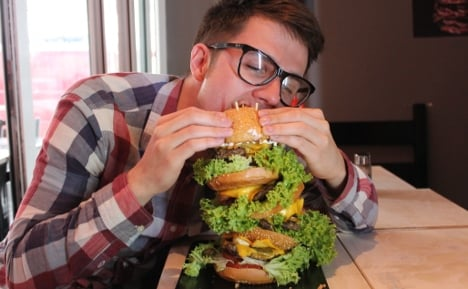 Is this Germany's biggest burger?