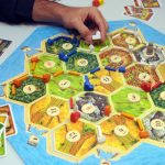 """<b>Settlers of Catan:</b> This multi-award-winning board game about building cities, managing resources and trading with rivals is among the most critically acclaimed games of recent decades. The Washington Post's Blake Eskin called it """"the board game of our time"""" in 2010. It was invented by German Klaus Teuber in 1995.Photo: DPA"""