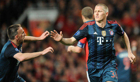 Bayern happy with Manchester draw