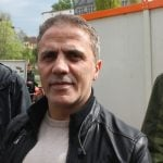 Member of the Berlin Assembly Hakan Tas was on scene representing the Left party.Photo: J. Arthur White