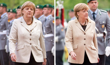 Merkel gives up bread for carrots and loses 10kg