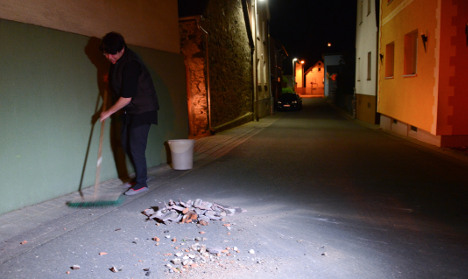 Earthquake damages 70 homes in Hesse
