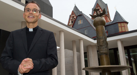 'Bling bishop' to live in €31m HQ until job found