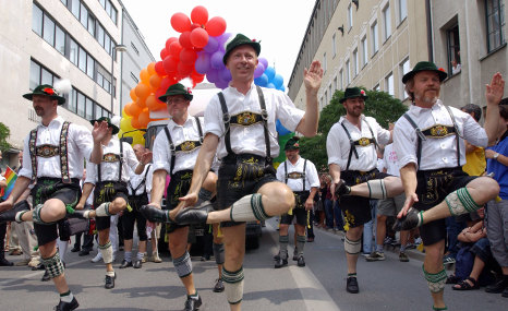 Germans accept gays more, immigrants less
