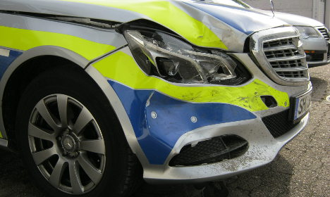 Joyrider, 14, hits police cars in 200km/h chase