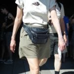 They would be talking about the little bags worn around the waist when travelling, a word that also causes great confusion among Brits (bum bag) and North Americans (fanny pack). Photo: Wikimedia Commons