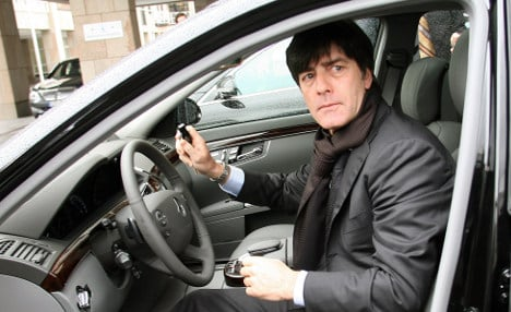 Germany coach Löw banned for speeding