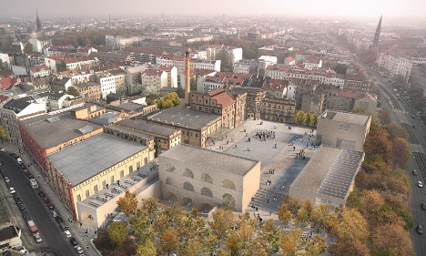 'Mini town' planned for central Berlin