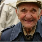 <b>3) Oldtimer:</b> An old man with a cheeky smile on his face and not a lot of life left in his old bones?Photo: Wikimedia Commons