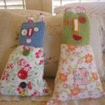 <b>5) Patchwork family:</b> A family that only wears patchwork or a family of patchwork dolls?Photo: Flickr/Constanza