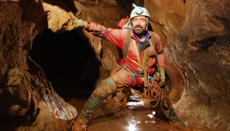 Hope for man trapped in Germany's deepest cave