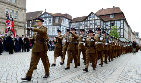 British troops close base in 'Pied Piper' town