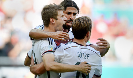 Germany dominate Portugal in World Cup