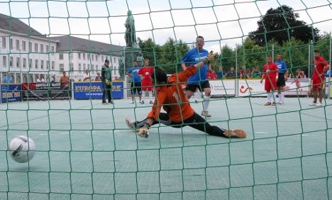 Homeless cup: football with new goals