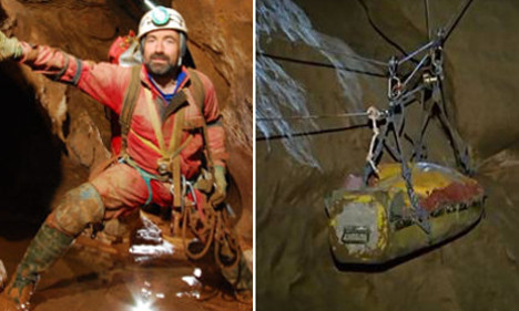 Injured cave explorer could be out by Friday
