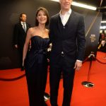 Kathrin Gilch is the girlfriend of Germany's first-choice goalkeeper Manuel Neuer. Pictured together at the Fifa Ballon d'Or Gala 2013 held in Zurich, Switzerland. Photo: DPA