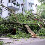 Western cities such as Gelsenkirchen were badly hit by the storm. Photo: DPA