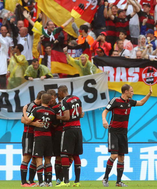 Germany beat USA 1:0 in World Cup