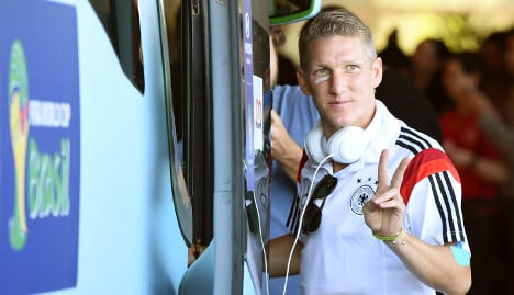 Schweinsteiger sorry for holiday video
