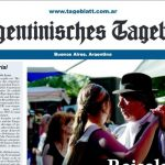 <b>German-language news:</b> The country's German-language weekly newspaper, the Argentinisches Tageblatt, founded in 1878, is still widely circulated in Buenos Aires. The paper was banned during World War II due to the anti-Nazi stance taken by editor-in-chief Ernesto Alemann.Photo: Tageblatt.com.arr screenshot