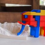 A three-dimensional elephant puzzle.Photo: Dimension Alley
