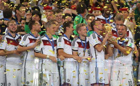 Germany basks in World Cup glory