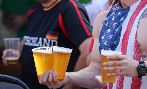 World Cup victory makes Germans thirsty