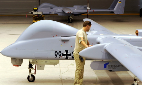 Defence minister: We need armed drones