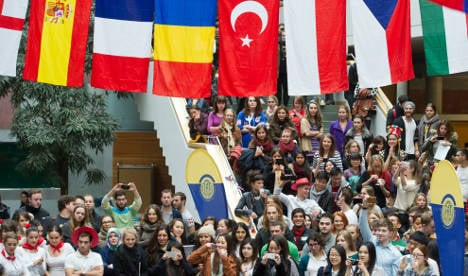 Foreign students in Germany at all-time high