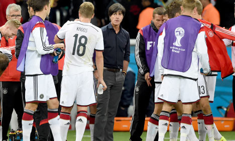 Seven players ill in German World Cup camp