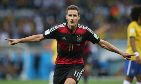 Klose to turn 'party animal' if Germany win