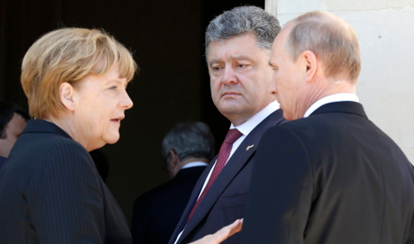 Germany denies 'land for gas' deal with Putin
