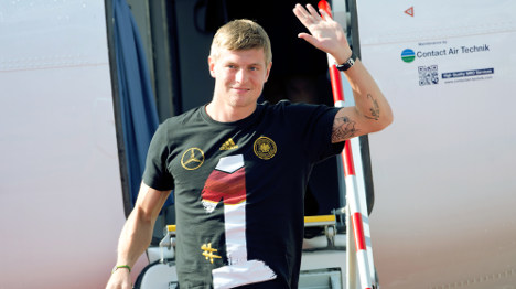Toni Kroos leaves Bayern Munich for Real Madrid
