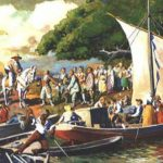<b>Germans settled there:</b> German migration to Brazil began in earnest in 1824 (pictured) and around 260,000 Germans settled there, mainly in the south. A dialect known as Hunsrückish became the largest German dialect in the country. Others include Plautdietsch and Tyrol. This immigration made German the second most common language spoken at home in Brazil in the 1940 census. Photo: Wikipedia