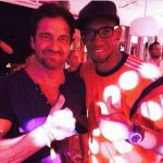 Defender Jerome Boateng is also in the USA and met actor Gerard Butler.Photo: instagram.com/jeromeboateng