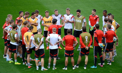 Germans ready to make history in Brazil
