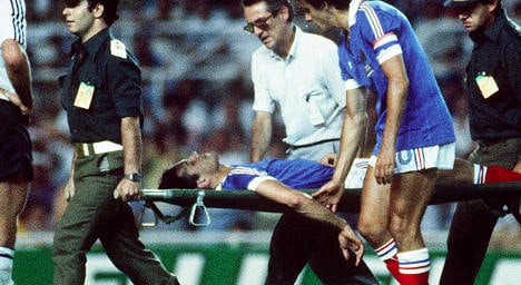VIDEO: When a German 'flattened a Frenchman'