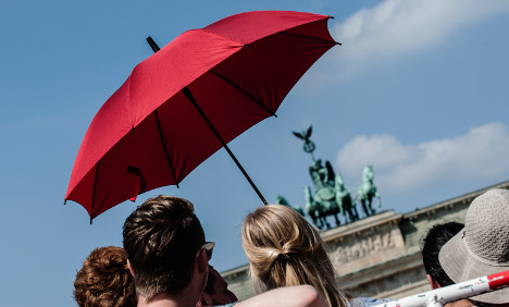 Heatwave to bring highs of 36C to Germany
