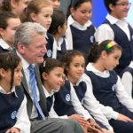 """<b>2014 is Brazil's 'Year of Germany':</b> Ominously for the Brazilians, 2013/14 was named the """"Year of Germany"""" in the country. It ended in May 2014 and featured 1,000 events including concert tours. President Gauck visited the country in 2013 (pictured) under the slogan """"Germany and Brazil – Where Ideas Meet.""""Photo: DPA"""