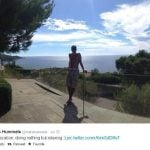 Many of the players reportedly went to Mats Hummels' villa in Croatia. Photo: twitter.com/@matshummels