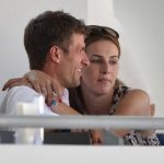 Thomas Müller and his wife Lisa have been watching horses in Aachen. Photo: DPA