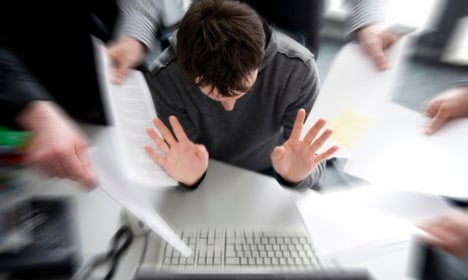 What are the triggers for work stress?