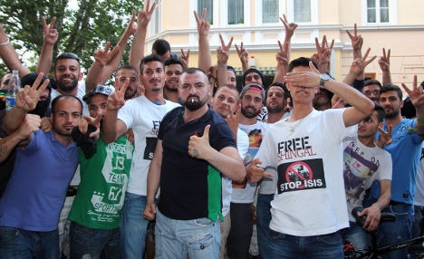Iraq conflict resounds on German streets